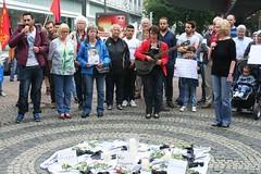 593. Gelsenkirchener Montagsdemo-Bewegung gedenkt Friedel Metzlaff (Thomas Kistermann) Tags: martina reichmann und thomas kistermann