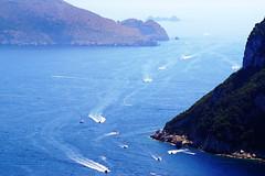all boats lead to Capri (kfinlay) Tags: italy italia capri campania island gulfofnaples romans rich famous playboy sexy