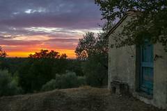 Tramonto (baldifiorella) Tags: tramonto collina tuscany