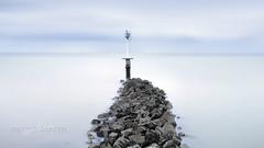 Calmness (FredConcha) Tags: fredconcha calmness rocks barrier landscape france bretagne longexposure lee nikon d800