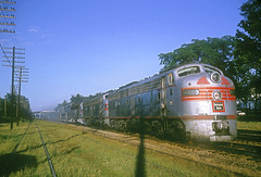 CB&Q E9 9988B (Chuck Zeiler) Tags: cbq e9 9988b railroad emd locomotive naperville dinky train chz chuck zeiler burlington