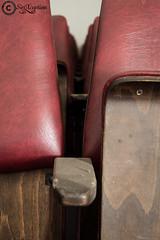 A seat @ the movies (sirixception) Tags: belgi belgium vlaamsbrabant film movie zaal zetel seat stoel red rood urbex verlaten empty deserted sirixception sirixceptionfotografie