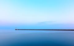 Serenidad (Alberto G. G.) Tags: puerto almera andaluca espaa 18140 d7100 nikon mar sea outdoor mediterrneo exposicin larga exposure long