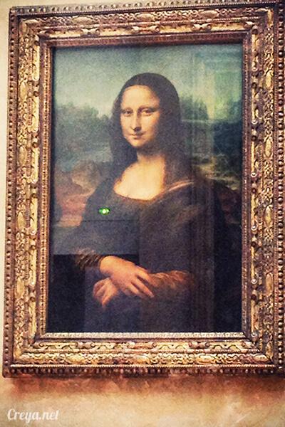 2016.09.04 ▐ 看我的歐行腿▐ 法國巴黎羅浮宮,金屋藏嬌裡的那抹淺淺微笑 13