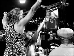 Philly-Two American Legends (patcallahan14) Tags: pennslyvania philadelphia2016 street stphotographia streetphotography blackandwhitephotograph bruce springsteen concert