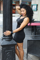 Pequeo Vestido Negro (California Will) Tags: sheer blackdress latina beauty beautiful model ybor tampa fl florida