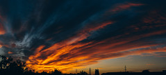 Cloudscape (Frostroomhead) Tags: panorama clouds cloudscape sunset nature evening colors sky nikon d5200 sigma 30mm f14 art