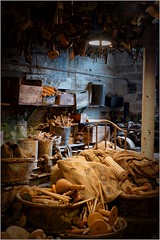 8. Masson Mills, Yorkshire DSCF1335 (janet.oxenham10) Tags: massonmills industrial urban yorkshire factory past bobbins threads