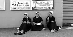 Lunch break | Amish Girls (Pordeshia) Tags: amish amishcountry amishcountryohio amishgirls holmes millersburg girls