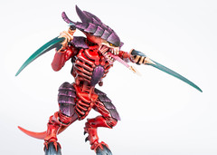 Tyranid Warrior: Head but not enough arms (Will Vale) Tags: tyranids 28mm 40k wh40k gamesworkshop tyranid scifi tyranidwarrior