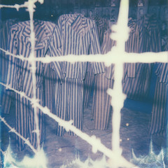 auschwitz (uti504) Tags: auschwitz poland discoverkrakow polaroid polaroid600 clothes ww2 holocaust