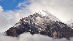Snowy Mountaintop (_Amritash_) Tags: snowy snowymountaintop mountaintop snowcappedpeaks himalayas karakoram purtikchey clouds india travel jammukashmir suru suruvalley massif sierra