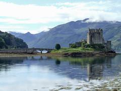 Eilean Donan Castle (Johnny_7) Tags: scotland eilean donan castle coast loch highlands water history scenic bridge shore icon