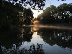 (francoissueur) Tags: mist brouillard riviere septembre nature eau relection flickrunitedaward