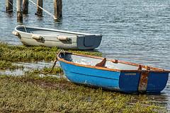 Lugworm (pauljohnhawkins) Tags: rowingboat burnhamoverystaithe sea
