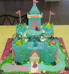 DSCN2019 (Pastries by Design) Tags: castle cake carved princess shaped