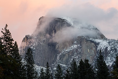 Half-Dome (Tn) Tags: snow landscape yosemite halfdome yosemitenationalpark clearingstorm naturegranite nationalparkhalfdomeyosemiteyosemitenationalparkyosemitevalleycloudslandscapesnow