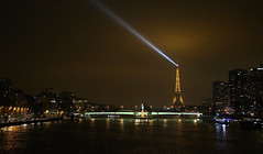 Parisien nights (ido1) Tags: bridge winter light paris cold night eiffel toureiffel