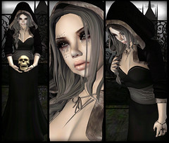 Silent Whispers, Silent Tears (Ginger Krokus) Tags: fashion clothing gothic goth sl secondlife horror gingersnaps styling glitterati kosh tsg littlepricks catwa drbc glamaffair gingerkrokus