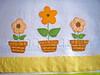 pano de prato vazinhos de flor (Ana Carla_Fazendo Arte) Tags: flores frutas galinha cupcake patchwork cozinha