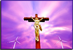 2013 02 Addictet to Power (Mister-Mastro) Tags: energy wind energie jesus golgatha oltusfotos mygearandme rememberthatmomentlevel1 windkrsft