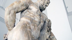 Lysippos, Farnese Hercules, side view