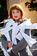 Paperman - 27 (crimsonyte) Tags: paper costume cosplay disney short pixar planes animation paperman wendybird disneyanimation misswendybird