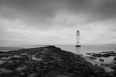 89/365 - New Brighton Lighthouse (Shirley Stefanne) Tags: sea lighthouse beach monochrome photography photo photos 365 newbrighton merseyside newbrightonbeach project365 newbrightonlighthouse 365project perchrocklighthouse project36589