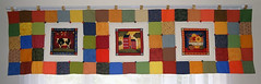 Band para Janela 2 (Bia e Deise - Quilting Beagles) Tags: cortina country janela patchwork band