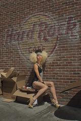 Drag: Glam Diva (TNguyen1989) Tags: seattle lighting street gay summer asian fun drag gold alley downtown photoshoot legs fringe tourists lips gloves heels pikeplacemarket sequins spikes crowds hardrockcafe leotard gumwall