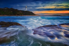 Norah Head Blues (Noval N | Photography) Tags: ocean lighthouse seascape beach nature sunrise landscape sydney australia centralcoast