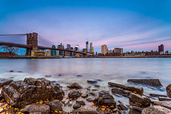 Here It Comes Again (Iliyan Gochev) Tags: newyork cityscape filter brooklynbridge singhray 3stophard 5dmarkii