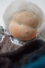 A doll for Lindi (Caroline babahaz) Tags: wool toys doll natural waldorf pop cotton rudolf steiner speelgoed popje waldorfinspired
