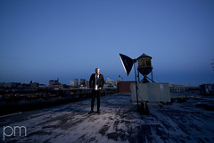 Rooftop Sessions... (patmccuephotography) Tags: ohio portrait usa availablelight cincinnati location alienbee locationshoot setupshot strobist 1424mmf28 nikond800 patrickmccuephotography