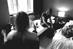 Let your hair down (Toni Pukarinen) Tags: leica berlin germany hotel blackwhite 28mm m6 asph 2012 elmaritm kodaktmz3200