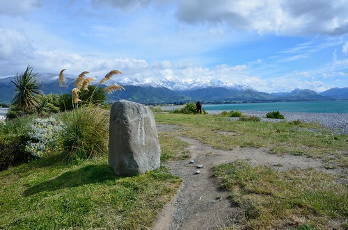 Stone in Kaikoura