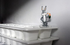 Freezer Bugs -- # 67/100 (Toria Clark) Tags: cold rabbit bunny ice project toy character cartoon bugs plastic cube tray 100 freezer possibilities photosunday
