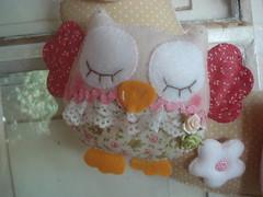 Detalhe da Coruja (tatiane_zoo) Tags: bebê feltro patchwork corujas tecido