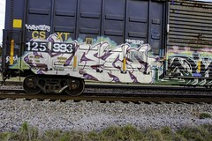 Fuego (Revise_D) Tags: railroad art graffiti design tags revise rails graff fuego tagging freight sob revised sluts trainart fr8 knd benching fr8heaven fr8aholics