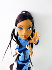 Korra (nonaptime) Tags: hybrid korra myscene repaint reroot customdoll monsterhigh jazzycreations