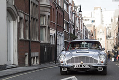 Est. 1965 (QusaiNusair) Tags: london classic james martin bond expensive mayfair aston 007 db6