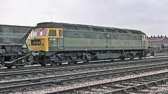 A green class 47 (geoff7918) Tags: yards green didcot mgr bordesley 47357 cartics