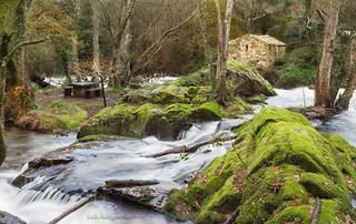 Muiño de Verdes, río Anllóns.