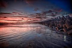 Kedonganan in HDR (Dhemas Aji Ramadhany) Tags: sunset bali beach canon indonesia 7d hdr 1022 denpasar kedonganan