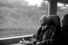 the passenger. (youcancallmefi) Tags: uk friends bw love analog zenit zenit11