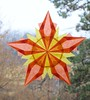Fall Window Star