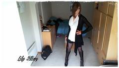 149 (Lily Blinz) Tags: france cute french tv lily boots cd tgirl transgender teen tranny transvestite trans trav fr crossdresser crossdress ts tg travesti crossdressed collant blinz transgenre