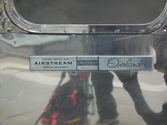 Airstream Land Yacht Overlander (kenjonbro) Tags: california uk ohio england london westminster logo trafalgarsquare badge airstream charingcross cerritos sw1 nameplate landyacht overlander jacksoncenter worldcars kenjonbro fujifilmfinepixhs10 atraveltrailer