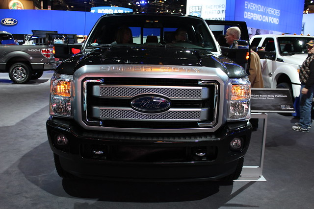 chicago truck illinois pickup chicagoautoshow mccormickplace superduty fordf250