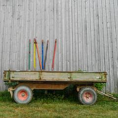 Kunst am Bauernhof (fotomanni.de) Tags: kunst franken bauernhof